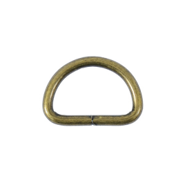 Полукольцо 25х16мм (3,5мм) антик роллинг