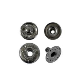 Кнопка галант 10мм блек никель роллинг без лицевой части