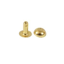Холнитен сферич 7х9х7х2,5 одностор светлое золото роллинг