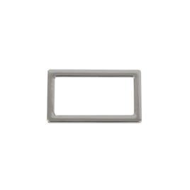Кольцо овальное В 5526 38мм никель