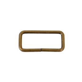 Кольцо овальное 40мм антик 3,5 мм