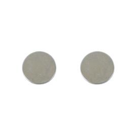 Магнитная кнопка внутренняя d=18мм  2мм (пара)