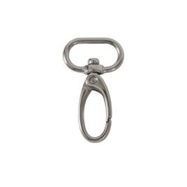 Карабин 3591 20мм никель роллинг (PM03 HM01)