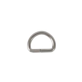 Полукольцо 15х10 мм (2,5мм) никель роллинг