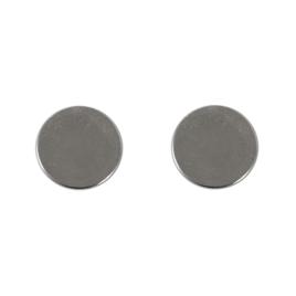 Магнитная кнопка внутренняя d=15мм  1,5 мм (пара)