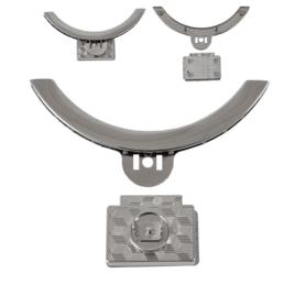 Застежка 8341-8317 никель полир