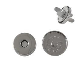 Магн,кнопка ЕВ-01 18мм никель роллинг Y
