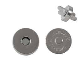 Магн,кнопка 18мм никель роллинг Y