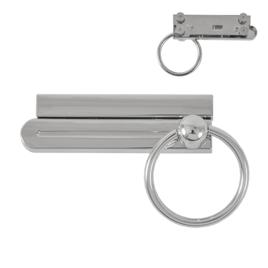 Застежка поворотная TL-530-05 никель полир (TL 531-05)