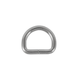 Полукольцо 20х15 мм (4мм) никель D