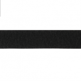 Велкро  25 мм 322 черн N СШ петля