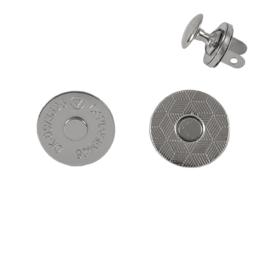 Магн,кнопка d=14мм плоская+холн d=12мм никель L