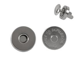 Магн,кнопка d=14мм+холн d=12мм никель L