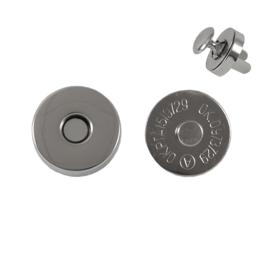 Магн,кнопка d=18мм+холн d=12мм никель L