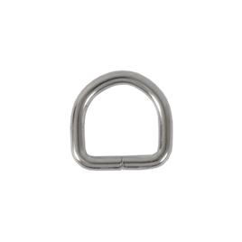Полукольцо 20х20 мм (4мм) никель D