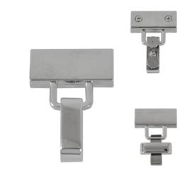 Застежка TL-530-08 никель полир