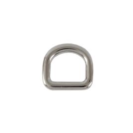 Полукольцо 7545 15мм никель полир