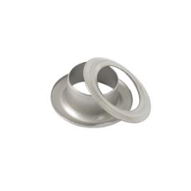 Люверс круглый 8/13,8 мм мат никель роллинг D
