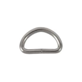 Полукольцо 20х10мм (3мм) никель полир (4666(20))